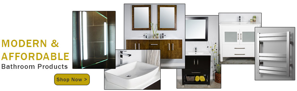 modern bathroom vanities