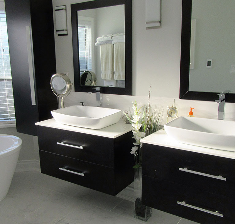 modern bathroom vanities online canada